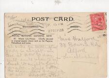Mrs Halford Bourne Road Alford 1928 485a