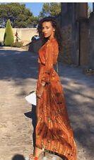 BA&SH Disy Wrap Dress Rouge Size 1 Michelle Keegan