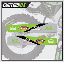 KAWASAKI KXF 250 450 2009-2018 SWING ARM DECAL / SWINGARM STICKER GRAPHIC