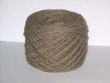 100g 100% Pure Wool British Breed thick aran knitting yarn Coffee Brown BBW 326