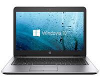 Quad Core Gaming HP EliteBook Laptop. 1.9GHZ, 8GB, 128GB SSD,Win 10.