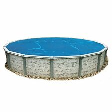 Round 18ft Blue Solar Blanket Above Ground Swimming Pool Thermal Heat Cover 8mil