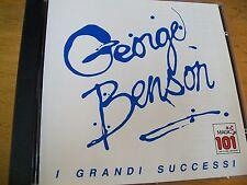 GEORGE BENSON I GRANDI SUCCESSI  CD MINT--- BOLLO SIAE A SECCO