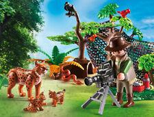 Playmobil - Wild Life - Luchsfamilie mit Tierfilmer, Neu, OVP, 5561