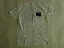 Quiksilver Slang Gang Short Sleeve T-Shirt White Size Large Regular Fit NWOT