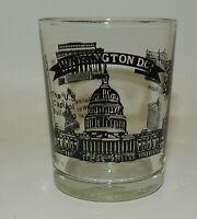 Vintage Washington DC Scenic Souvenir Shot Glass