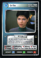 Star Trek CCG Holodeck RARE CARTE Ezri DAX