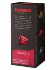 240 Capsule Kimbo Compatibili Nespresso Caffè Espresso Miscela Napoli