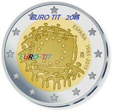 2   EURO     ESPAGNE        2015    1    X    PIECE       DRAPEAU     disponible