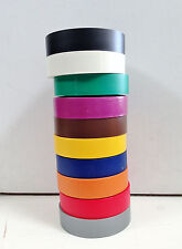 """Pro Tape Professional Grade 3/4""""  Electrical Tape 10 pack  Assorted  20122-CL"""