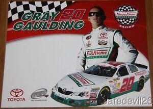 2013 Gray Gaulding Krispy Kreme Toyota Camry NASCAR K&N postcard