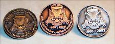 Canada Army Canadian Airborne Regiment 1968 1998 2003 2008 Lot Set 3  Lapel Pin