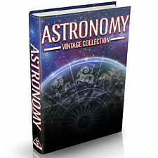 Astronomy Books 112 Old Books on DVD Planets Stars Galaxies Telescopes Comets