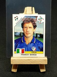 1990 Panini World Cup Italia 90 - Franco Baresi WC ROOKIE Sticker - Italy #43