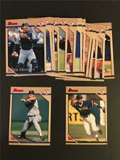 1996 Bowman Boston Red Sox Team Set 16 Cards