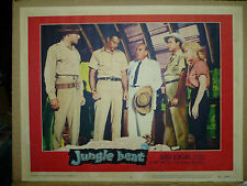JUNGLE HEAT, orig 1957 LC #5 (Lex Barker, Mari Blanchard)