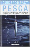 Pesca nelle acque dolci e mare ambienti tecniche pesci de agostini compact nuovo