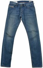 Diesel Tepphar Wash Stretch Jeans Womens Denim W29 L32 Blue Slim Carrot Pants