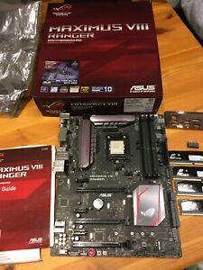 ASUS MAXIMUS VIII RANGER Motherboard Socket 1151 + i7-6700k 4GHz CPU + 32GB DDR4