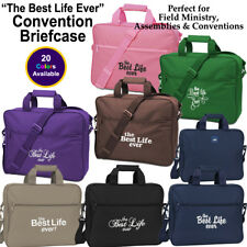 The Best Life Ever Convention Briefcase, Jehovah's Witness, JW.Org, JW Gifts