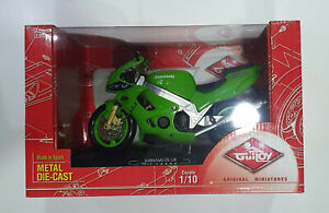 GUILOY 1/10 Scale Motorbike KAWASAKI ZX-12R Ninja BRAND NEW