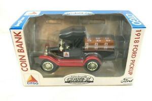 Gearbox Collectible 1918 Ford Pickup Coin Bank Citgo Good Year Detachable Key