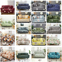 Sofa Covers Washable Stretch Fabric Sectional Couch Cover Slipcover 1-4 Seater