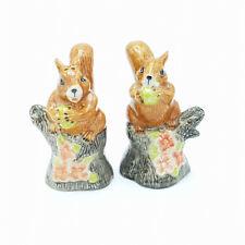 Squirrel Ceramic Salt & Pepper Shakers