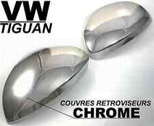 ENJOLIVEURS CHROME CACHE COQUES RETROVISEURS VW TIGUAN 2007-13 TDI TSI 4-MOTION
