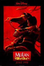MULAN MOVIE POSTER 2 Sided ORIGINAL FINAL 27x40 EDDIE MURPHY