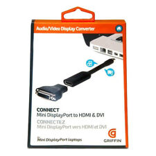 GENUINE Griffin Technology Mini DisplayPort to HDMI or DVI Video Display Convert