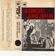 K 7 AUDIO (TAPE)  JANIS JOPLIN *JOPLIN IN CONCERT*