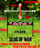 SLUG OF WAR -  AIRGUN AIR RIFLE TARGET
