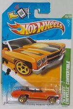 Hot Wheels 2012 Treasure Hunt  #15 '70 CHEVY CHEVELLE CONVERTIBLE TH  MOMC