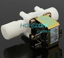 """DC 12V Electric Solenoid Valve Magnetic  N/C Water Air Inlet Flow Switch 1/2"""""""