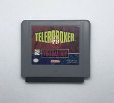 TELEROBOXER Virtual Boy Game