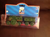 thomas and friends wooden emily and tender brand new sealed learning curve rare