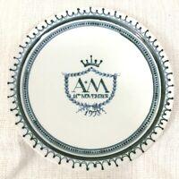 1973 Vintage Segale Ceramiche Dipinto a Mano Piatto Reale Matrimonio Memorabilia