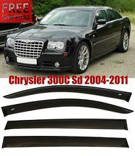 For Chrysler 300c sd 2004-2011 Window Black Visor Rain Sun Guard Deflectors