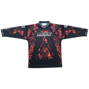 WULFSPORT AZTEC RED MX SHIRT 5-7 YEARS WAS £19.99