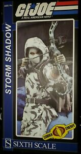 Sideshow Collectibles GI Joe Storm Shadow Cobra Ninja FREE SHIPPING