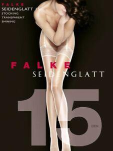 Falke Seidenglatt 15 luxury lace top stockings 41511 - 08