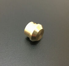 End plug for Crosman 2240-50-60 and 2300T, solid brass.