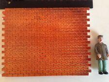 Neues AngebotSilikonform Spur 1 , Mould 1:32   Grosse Backsteinmauer