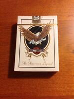 NEW IN SEALED PACKAGE 1 DECK OF HARLEY DAVIDSON POKER SIZE PLAYING CARDS