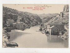 Toledo Malinos Del Tejo Spain 1921 Postcard 888a