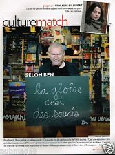 Coupure de Presse Clipping 2010 (3 pages) Ben Vautier
