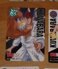 YUYU HAKUSHO CARDDASS CARD REG REGULAR CARTE 134 MADE IN JAPAN **
