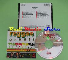 CD REGGAE GREATS VOLUME 4 compilation BOB MARLEY UPSETTERS LOU THOM (C29) no mc