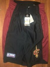 CLEVELAND CAVALIERS SMALL UNDER ARMOUR COMBINE SHORTS NWT!!! NBA